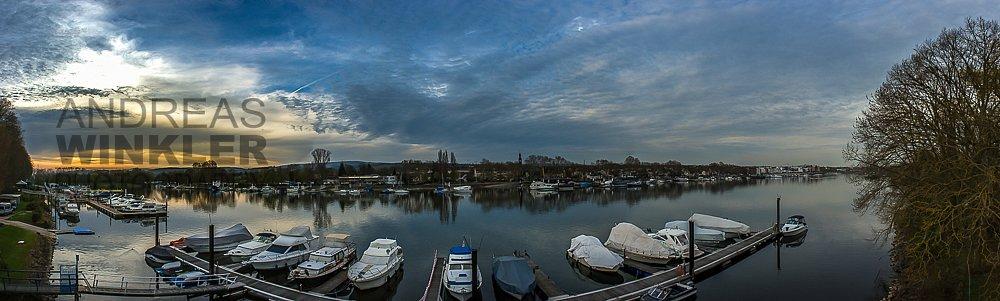 Pano11 - Schiersteiner Hafen
