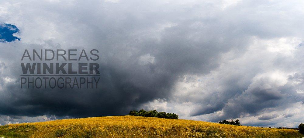 Pano13 - Gewitterwolken über der Provence